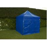 tenda sanfonada com fechamento lateral preço Cidade Dutra