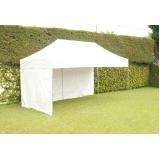 tenda sanfonada com fechamento lateral Jardim Bonfiglioli