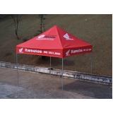tenda sanfonada tipo barraca preço em Guararema