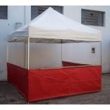 tenda sanfonadas com balcão Consolação