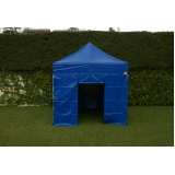 tenda sanfonadas com fechamento lateral Limão