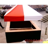 tendas 3x3 articulada Cupecê