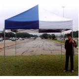 tenda 3x3 com proteção lateral