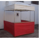locação de tenda balcão