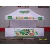 tenda balcão personalizada