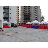 tendas pantográfica para locações na Cantareira