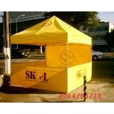 tendas pantográficas de montagem rápida preço em Biritiba Mirim