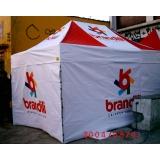 tenda sanfonada de alumínio