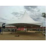 tenda sanfonada dobrável